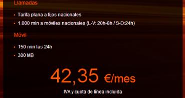 Orange lanza fibra óptica de 30 megas