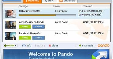 Cierra Pando, el P2P más sencillo