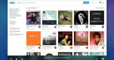 Rdio sigue a Spotify y se vuelve gratis