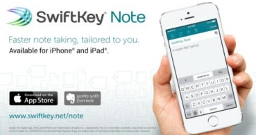Descarga ya el teclado SwiftKey Note para iOS