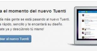 Tuenti solicita a los usuarios que se actualicen al nuevo Tuenti