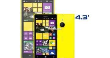 Nokia Lumia 1520V podría ser el primer smartphone Mini de Nokia