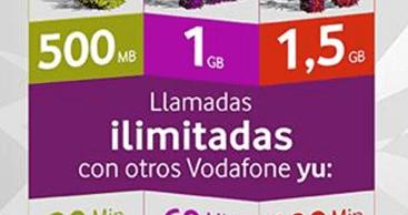 Vodafone Yu aumenta los megas para navegar