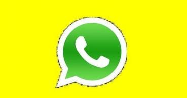 ¿Qué es la imagen amarilla en la foto de WhatsApp?
