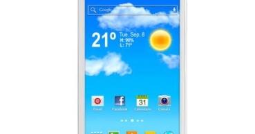 Zielo Q40, el smartphone de gama alta de Woxter