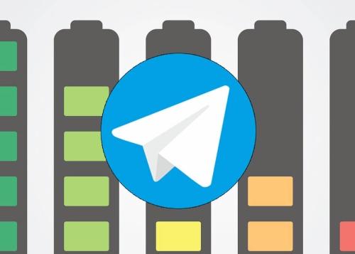 ¿Cuánta batería gasta Telegram?
