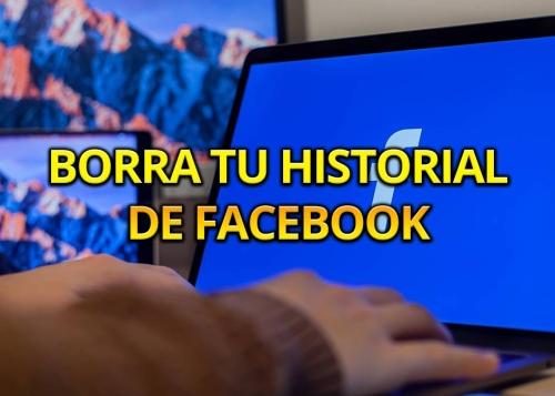 Cómo eliminar el registro de actividad de Facebook
