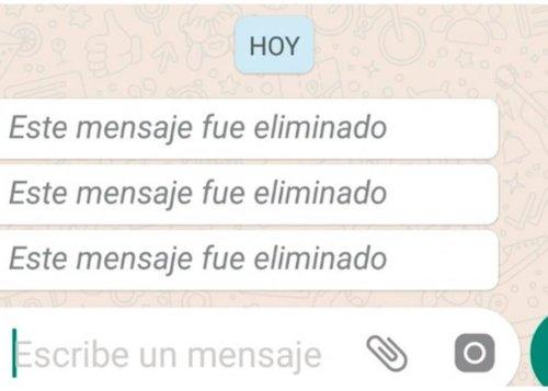 Cómo recuperar mensajes eliminados de WhatsApp