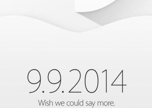 Apple confirma la presentación del iPhone 6 el 9 de septiembre