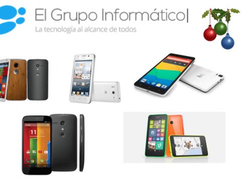 5 móviles para regalar estas navidades