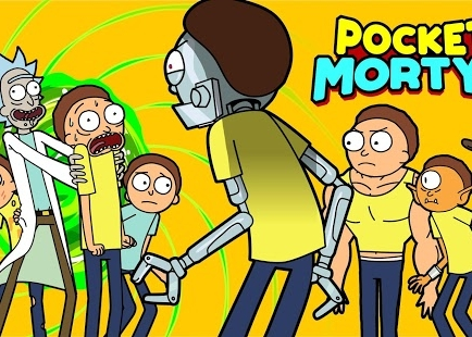 Pocket Mortys, la parodia de Pokémon llega a Android