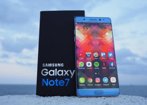 Review: Samsung Galaxy Note 7, un smartphone realmente impresionante