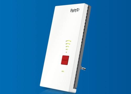 FRITZ!Repeater 2400 llega a España: el repetidor WiFi con Mesh y Ethernet