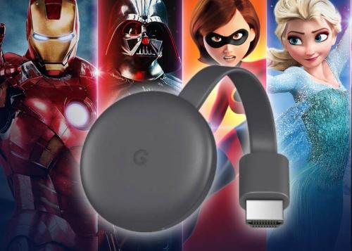 Cómo ver Disney+ en Chromecast