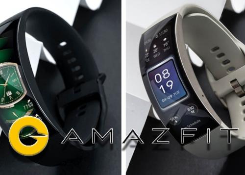 Amazfit X, la pulsera fitness de Xiaomi con una futurista pantalla curva