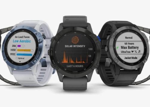Garmin renueva sus relojes deportivos con carga solar y semanas de autonomía