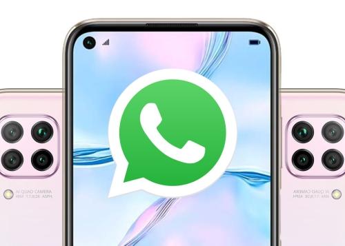 Cómo instalar WhatsApp en el Huawei P40 Lite