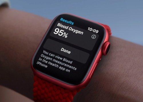 Apple Watch Series 6 ahora viene con más batería y sensor SpO2