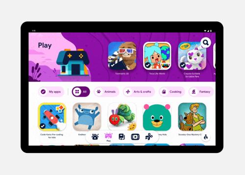 Kids Space, ahora las tablets Android se adaptan mejor a los niños