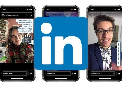 Linkedin ya permite añadir enlaces a las Stories