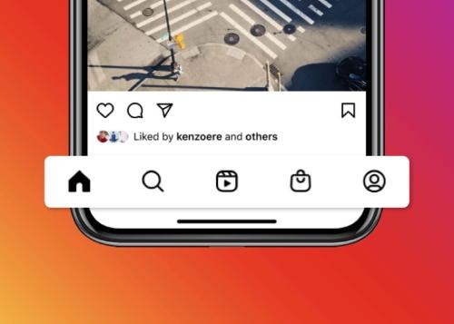 Instagram incorpora pestañas de Reels y de Shop