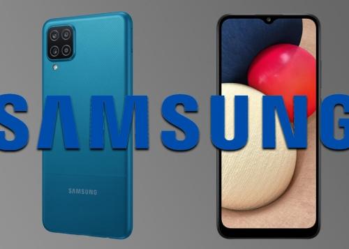 Galaxy A12 y Galaxy A02s: amplia pantalla y gran batería en la gama de entrada de Samsung