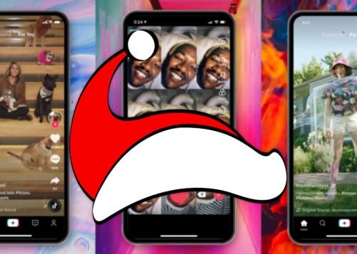 9 filtros de Navidad para TikTok