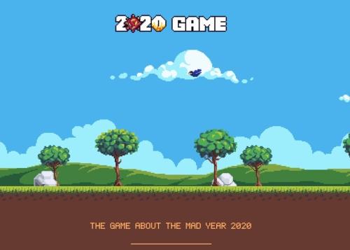 2020 Game: el juego que resume la pandemia, las elecciones de EE. UU. y el resto del año