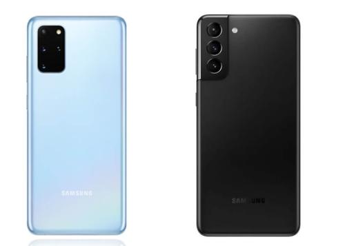 Galaxy S21/S21+ vs Galaxy S20/S20+: ¿cuáles son las diferencias?