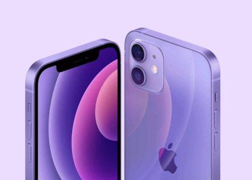 iPhone 12: ahora disponible en morado