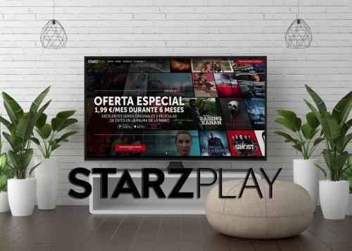 Oferta: 6 meses de Starzplay por solo 1,99 euros al mes