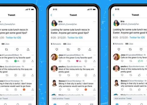 Twitter prueba un botón para votar positivo o negativo