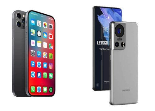 iPhone 13 vs Samsung Galaxy S22: cuál es mejor según los rumores