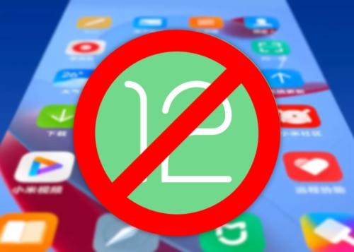 Estos móviles de Xiaomi no recibirán Android 12
