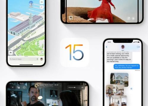 iOS 15 ya está disponible para descargar