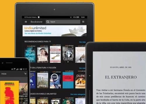 Oferta: Kindle Unlimited gratis por 2 meses, lee más de 1 millón de libros sin pagar