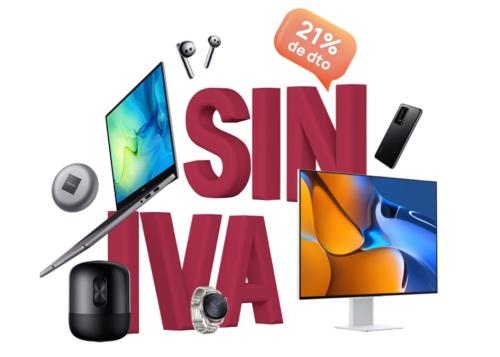 Días sin IVA de Huawei: mejores ofertas que no te puedes perder
