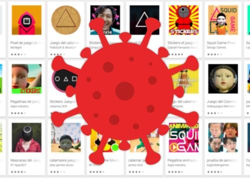 Otra estafa más de El Juego del Calamar: apps con malware se cuelan en Google Play