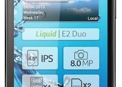 Acer Liquid E2 en Europa ya es oficial