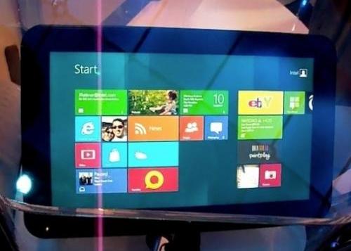 Intel anuncia dispositivos táctiles con Windows 8 por 200$
