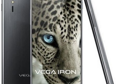 Pantech Vega Iron anunciado oficialmente