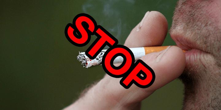 Las oraciones para a dejar fumar y beber