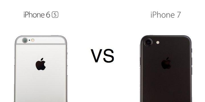 iphone 6 vs iphone 7 diferencias