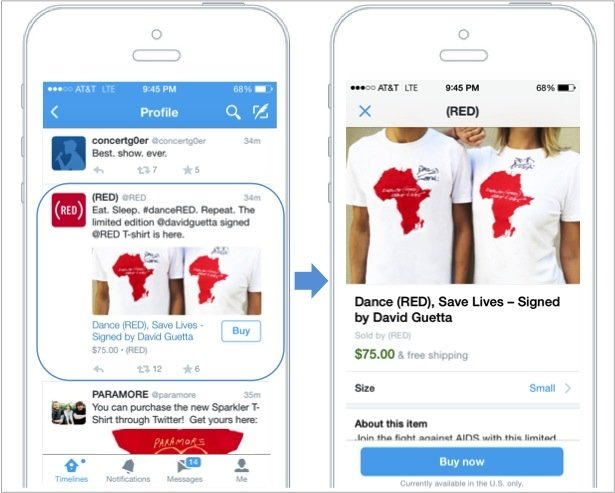 Imagen - Twitter ya permite comprar directamente desde sus apps y web