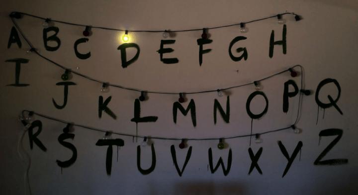 C mo crear mensajes con bombillas - Letras para pared ...