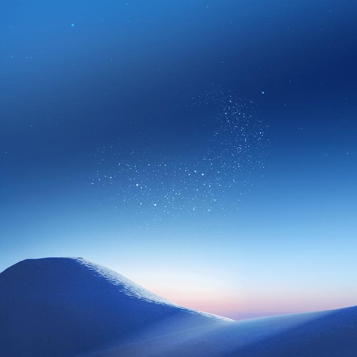 descarga los fondos de pantalla del samsung galaxy s8