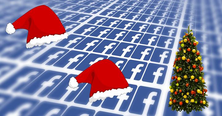 2f2987cc9dc95 Cómo poner un marco navideño a tu foto de perfil de Facebook