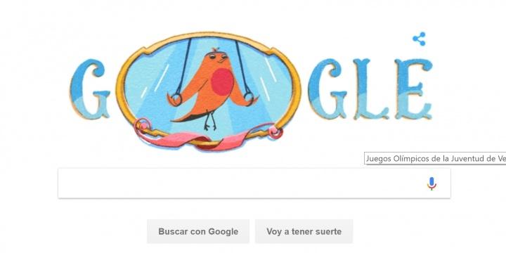 Google Lanza Un Doodle Por Los Juegos Olimpicos De La Juventud De
