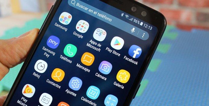 Review: Samsung Galaxy A8 (2018), doble cámara frontal y pantalla sin apenas biseles