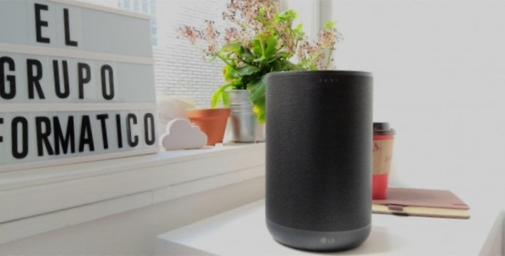 Review: LG ThinQ WK7, potencia sonora en un altavoz con Google Assistant
